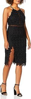 Bardot womens TABYTHA HALTER DRESS Dress