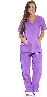 Women's Scrub Sets Six Pocket Medical Scrubs (V-Neck with Cargo Pant)