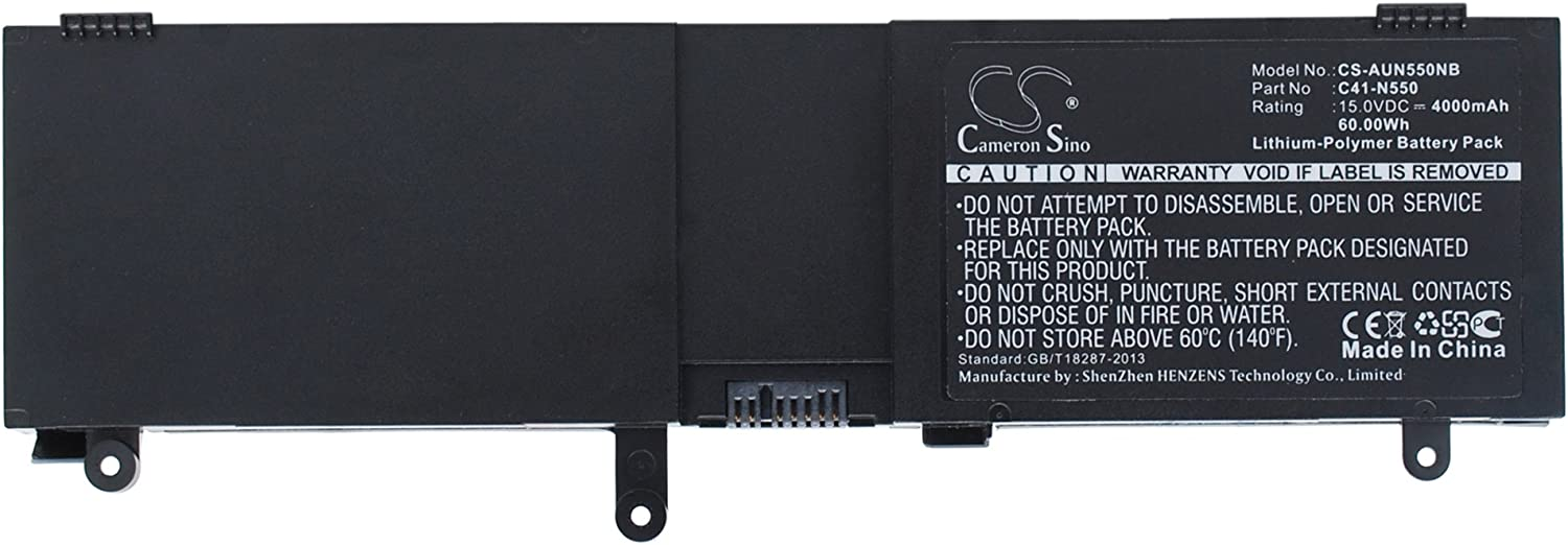 Japan's largest assortment Battery Replacement for as G550JK-CN366D G550JK-CN264H Ranking TOP6 G550JK-CN