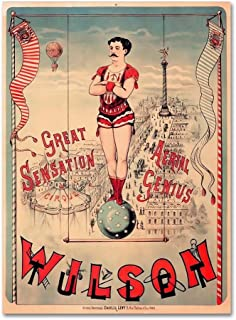 Circus 1889 by Vintage Lavoie, 35x47-Inch Canvas Wall Art