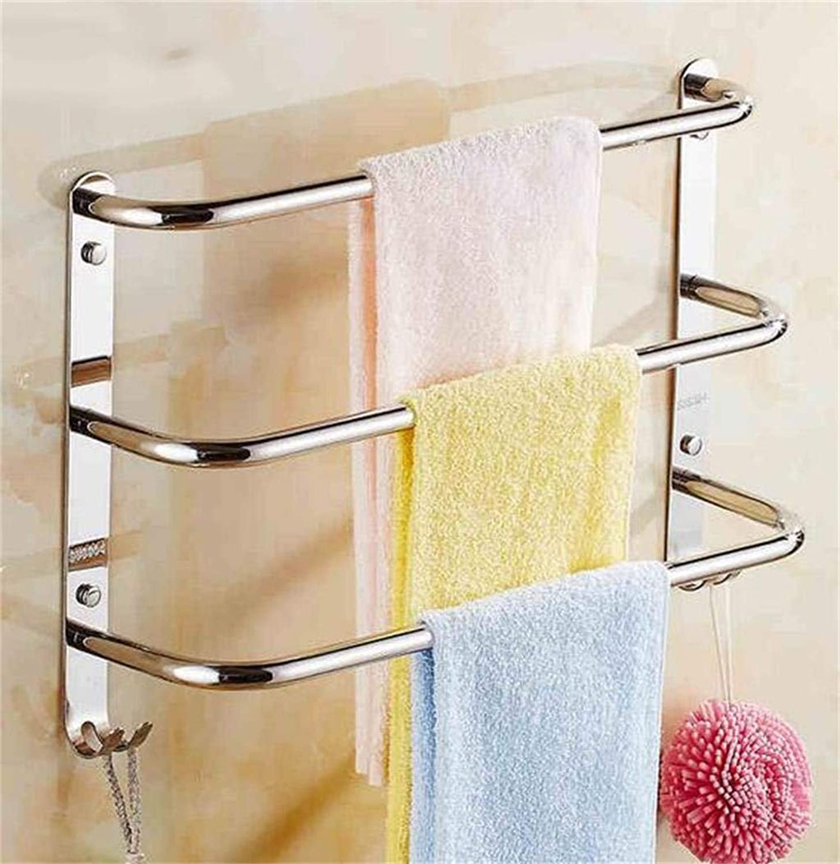 EQEQ Stainless Steel Shelving in Bathroom Bathroom Storage Rack Shelf Propeller Embedded Bathroom (color  1, Its Size  40 cm).