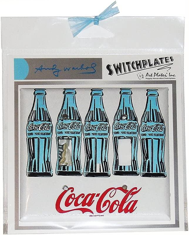 Andy Warhol Three Coke Bottles Switch Plate Double
