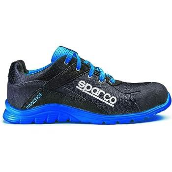 Sparco S0751743NRAZ Zapatillas Practice Negro/Blue Talla 43 ...