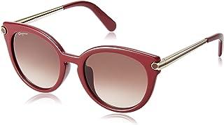سلفاتوري فيراغامو نظارات شمسية للنساء - SF839SA 604 - خمري/بني (53/20/140)