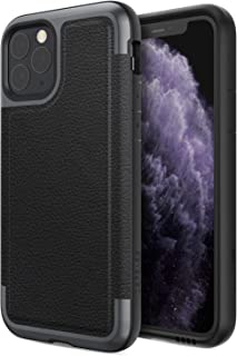 Defense Prime, iPhone 11 Pro Case - Military Grade Drop Tested, Anodized Aluminum Frame, Luxurious Back Panel, and Polycarbonate Protective Case for Apple iPhone 11 Pro, (Black)