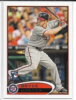 2012 Topps Baseball Bryce Harper Short Print Leg Up Variation Card # 661