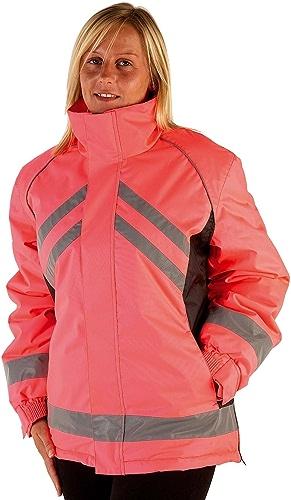 HyViz Waterproof Riding Reflective Jacket Medium jaune