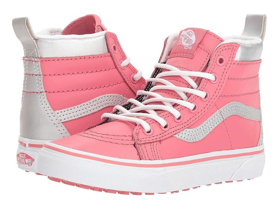 Vans Kids SK8-Hi MTE (Little Kid/Big Kid) ((MTE) Metallic/True White/Desert Rose) Girls Shoes