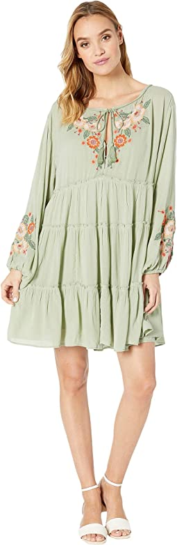 63e25566d21d Green. 25. Free People. Spell on You Embellished Mini Dress. $88.80MSRP:  $148.00