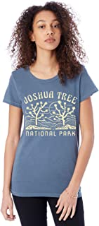 Alternative Apparel Women's Joshua Tree National Park Distressed Vintage T-Shirt