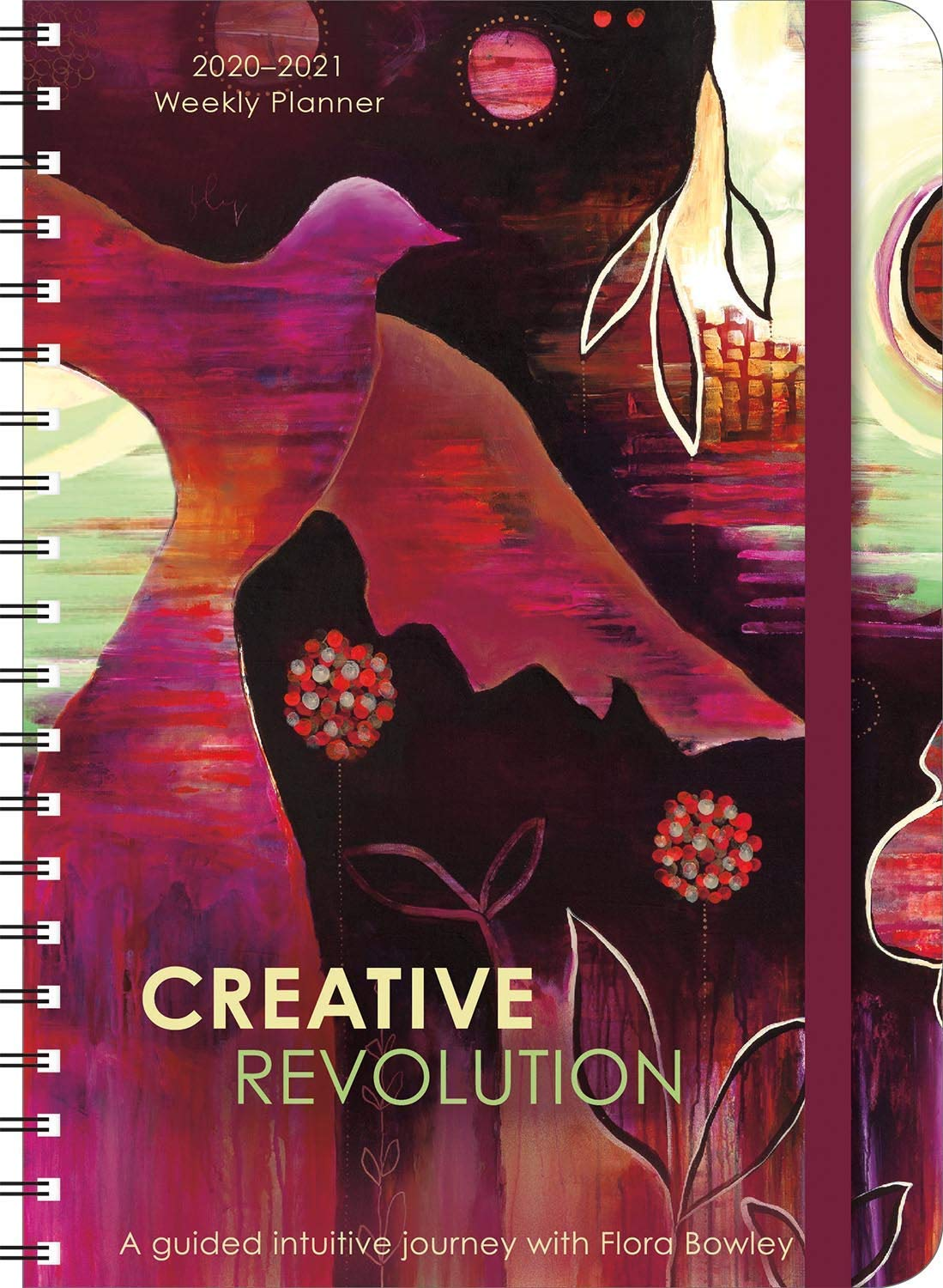Image OfCreative Revolution 2020 - 2021 On-the-Go Weekly Planner: 17-Month Calendar With Pocket (Aug 2020 - Dec 2021, 5