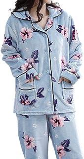 Pajamas Nightwear Winter Pajamas Set Women Sleepwear Warm Long Sleeves PajamasCute Animal Homewear Thick Home Suit Pijamas Girl