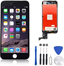 Screen Replacement for IPhone 7 Plus Black for LCD Display & Touch Screen Digitizer Frame Assembly Set with 3D Touch Free Repair Tool