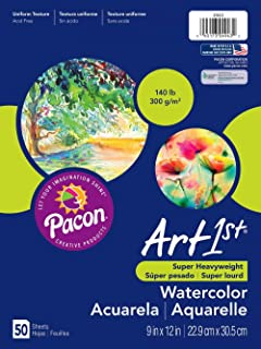 Art1st Watercolor Paper, 140 lb, 9