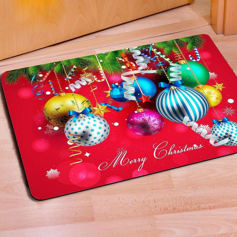 Christmas mats 40  60cm non-slip rubber living room bedroom mats , hb004u4 , 4060cm