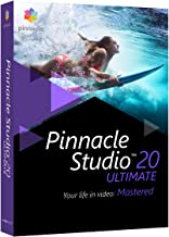 Corel Pinnacle Studio 20 Ultimate - Software de video (Caja, Inglés, Francés, 3GP, AVCHD, AVI, DivX, H.263, HDV, MPEG1, MPEG2, MPEG4, WMV, AAC, AC3, AMR, M4A, MP3, MPA, Vorbis, WAV, WMA, BMP, GIF, JPG, JPS, PCX, PNG, PSD, TGA, TIF, WMF, PC)