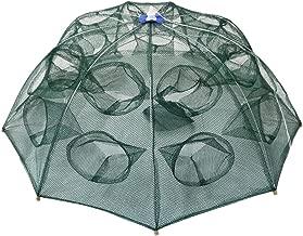 Goture Portable Folded Fishing Net Fish Shrimp Minnow Crayfish Crab Baits Cast Mesh Trap Automatic