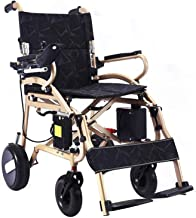 FOLD and Travel Lightweight wheelchairs for Adults Foldable Ultra Lightweight Electric Wheelchair Carrier Power Wheel Chairs Electric Chair Mobility Chair Only 40 lbs Best Rated Exclusive Deluxe