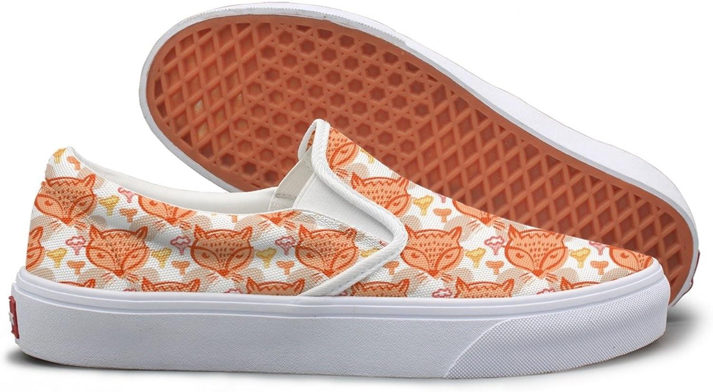 Casual Kawaii Fox Young Women Canvas shoes