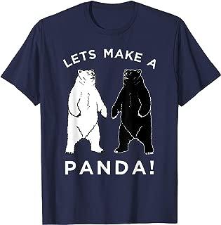 Lets Make A Panda T-Shirt, Funny Bear Graphic Tee