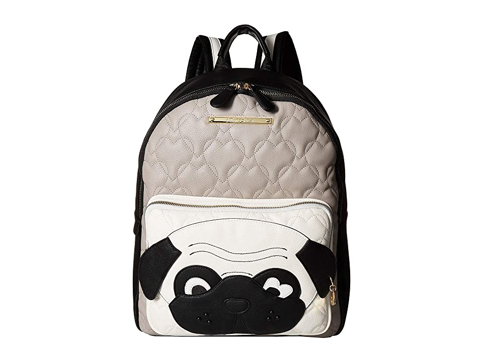 Betsey Johnson Kitch Backpack (Grey/Black) Backpack Bags