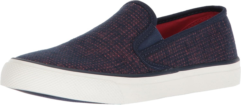 Sperry Women's Seaside Two-Tone Linen shoes