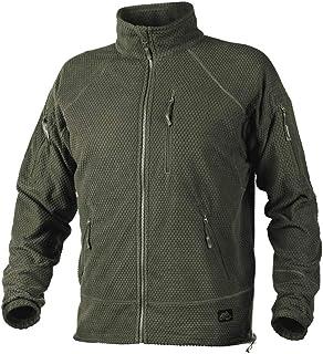 Helikon-Tex Alpha Tactical -Grid Fleece- Jacke jongens Helikon-Tex Alpha Tactical -Grid Fleece jack Olive Green