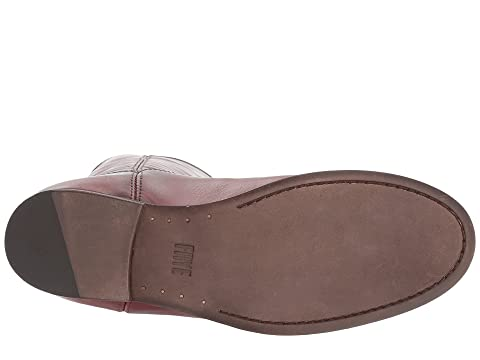Free Shipping Websites Frye Melissa Button 2 Wine Extended Sale Choice vVgV1