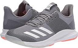 Grey Three/Footwear White/Signal Coral