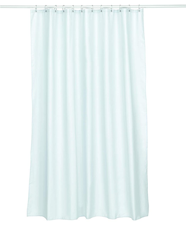 ジェスチャー宗教宿泊施設Kela(ケラ) サイズ:180×H200cm シャワーカーテン 180x200 ホワイト Laguna 22074