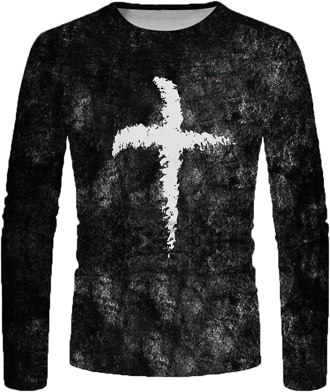 Men's Long Sleeve Henley Shirts Slim Fit T-Shirt Motorcycle T-Shirts Crew Neck Long Sleeve Retro T-Shirts