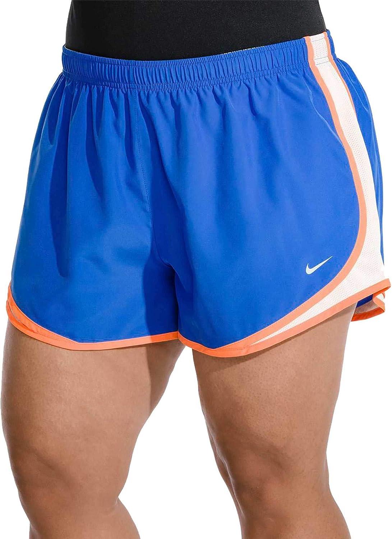 Nike Damen Laufshorts Tempo Dri-Fit Plus Größe