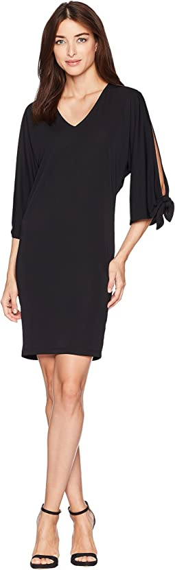 Stretch Jersey Shift Dress