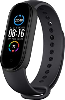 "Mi Smart Band 5-1.1"" AMOLED Color Display, 2 Weeks Battery Life, 5ATM Water Resistant"