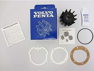 Volvo Penta OEM Water Pump Impeller Kit 21951346 (repl. 3862281 3858256 876243)