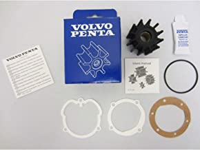 Volvo Penta OEM Water Pump Impeller Kit 21951346 (repl. 3862281 3858256 876243)