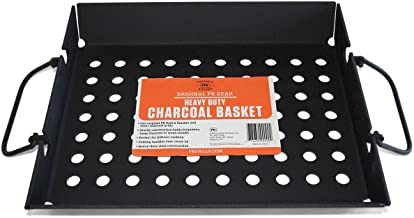 custom charcoal basket
