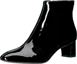 Calvin Klein Women's MIMETTE Leather Ankle Boot