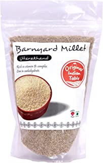 Original Indian Table Barnyard Millet, 400g x 2 (Pack of 2)