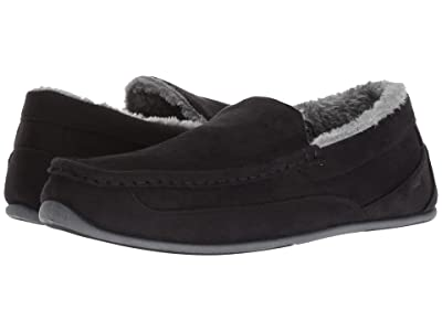 Deer Stags Spun Slipper (Black) Men