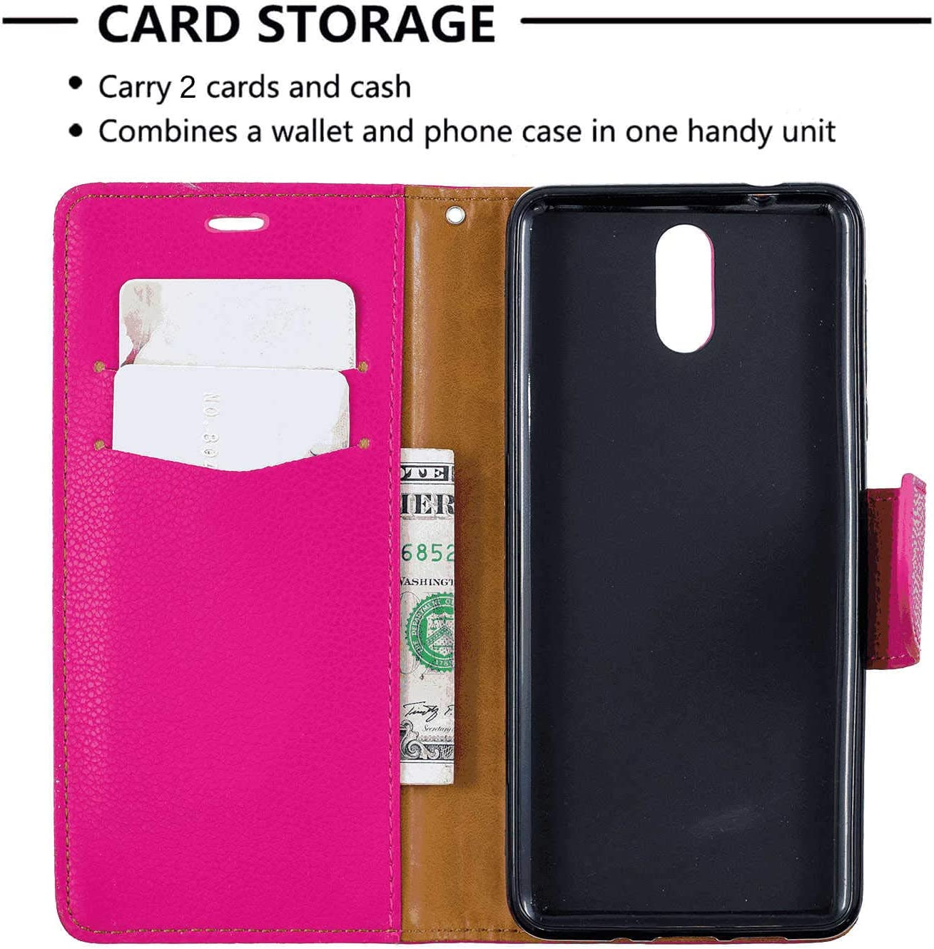 Kickstand Card Holders Luxury Wallet Cover for Samsung Galaxy S9 Plus Leather Flip Case Fit for Samsung Galaxy S9 Plus