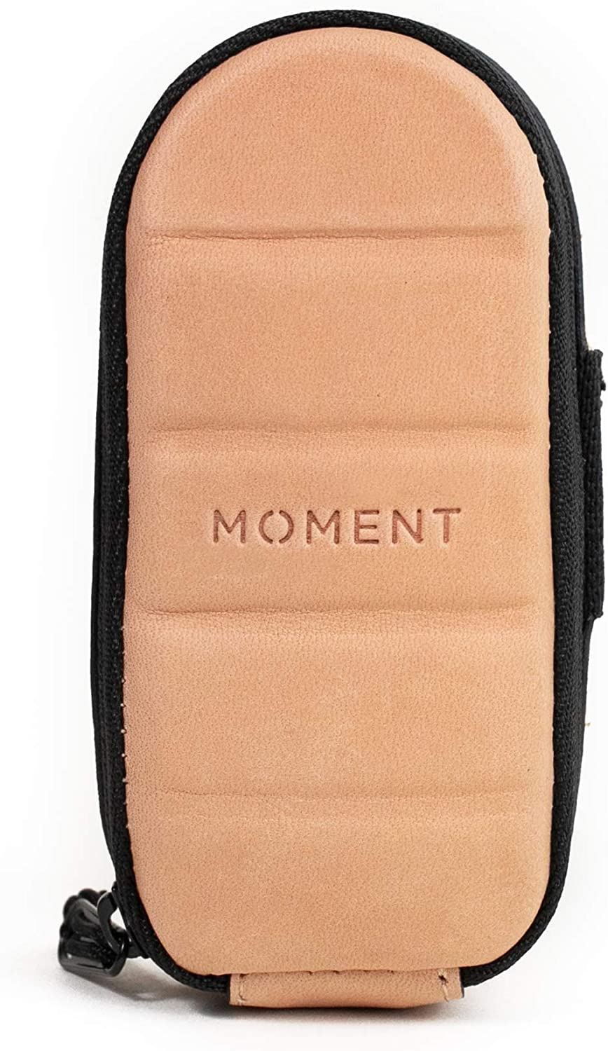 Moment Dual Mobile Lens Pouch Store and Protect 2 Accessory Lenses Leather