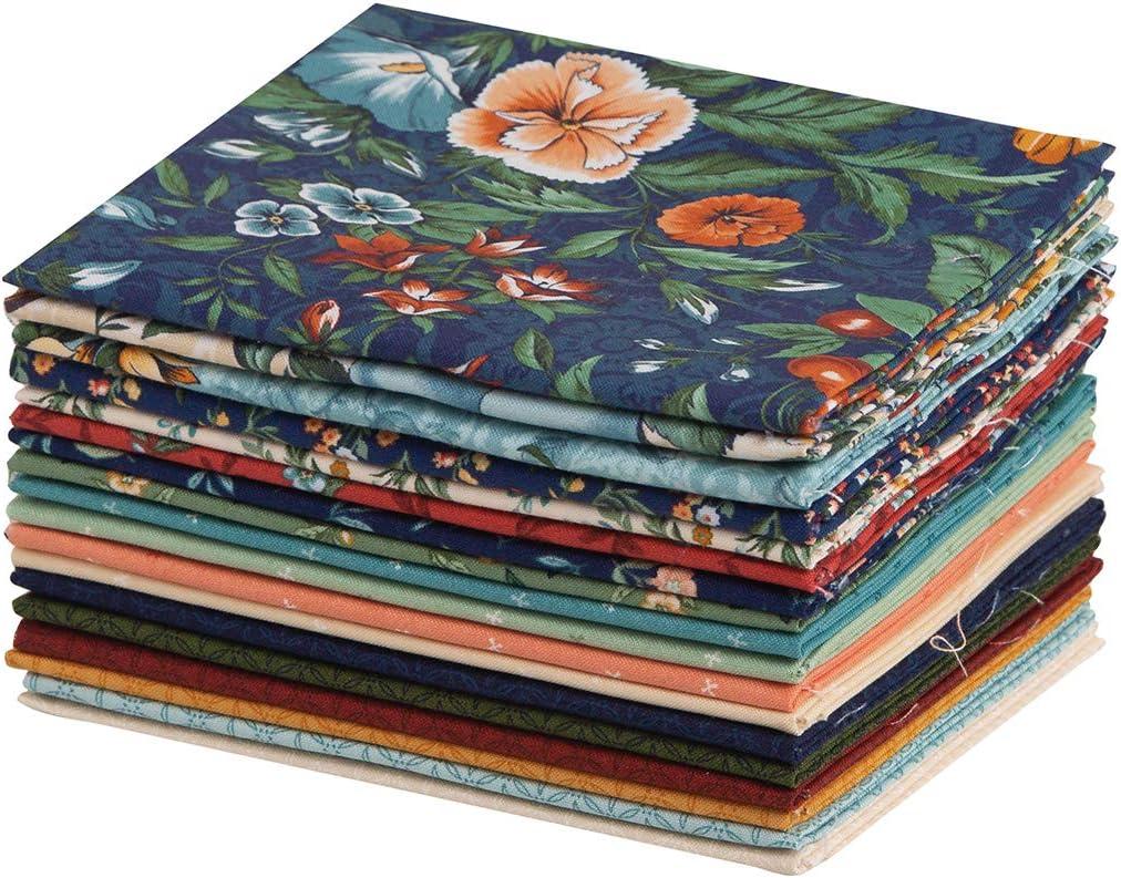 Connecting Threads Print Collection Precut Cotton Quilting Fabric Bundle Fat Quarter Abundance