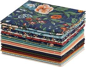 Coleção Connecting Threads Print Collection de tecido de algodão pré-cortado acolchoado conjunto de tecido grosso (abundân...