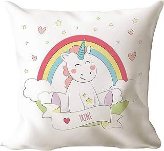 AR Regalos Cojín Personalizado Unicornio