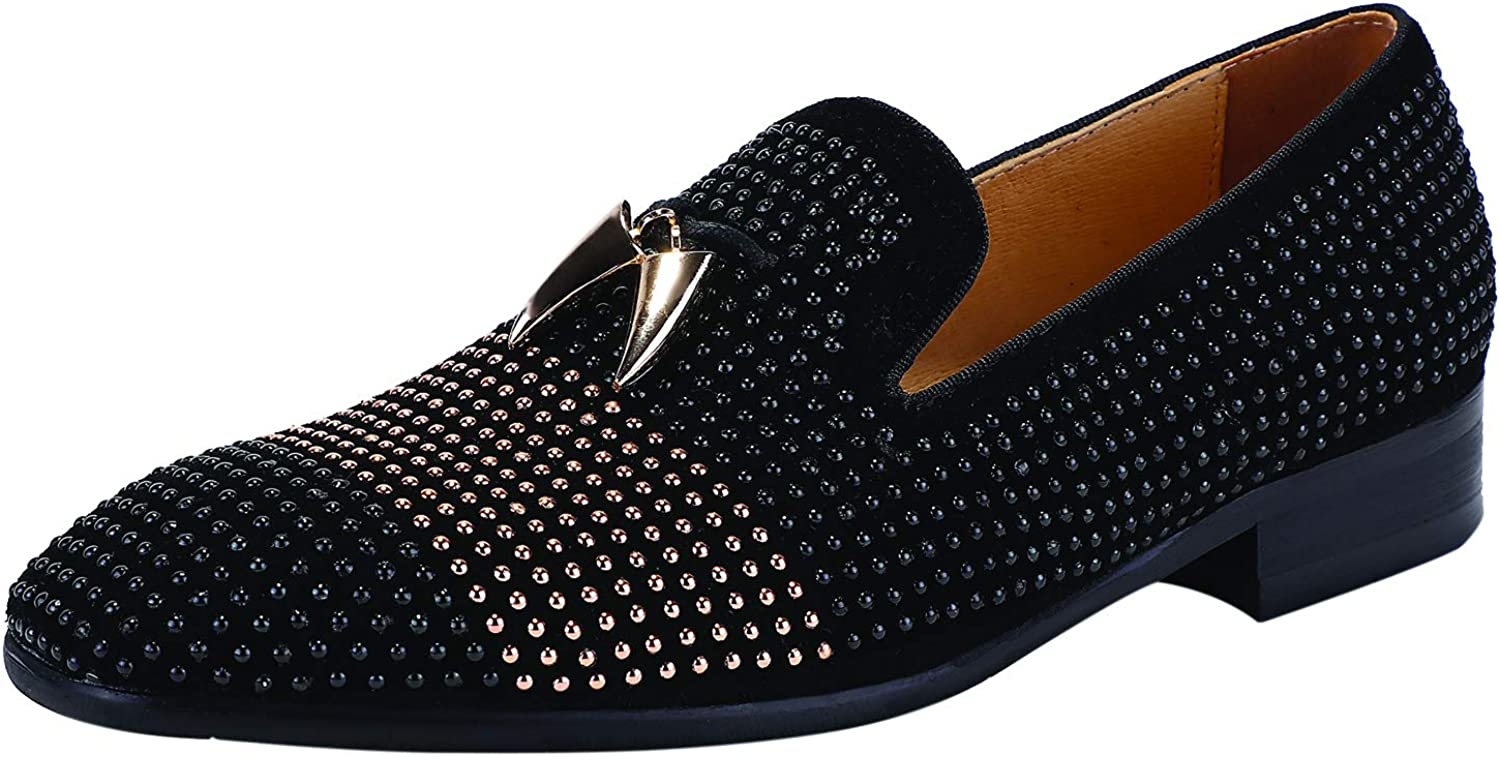ELANROMAN Men's Loafers Tassel Luxury Part New Max 43% OFF life Penny Slip-On Leather