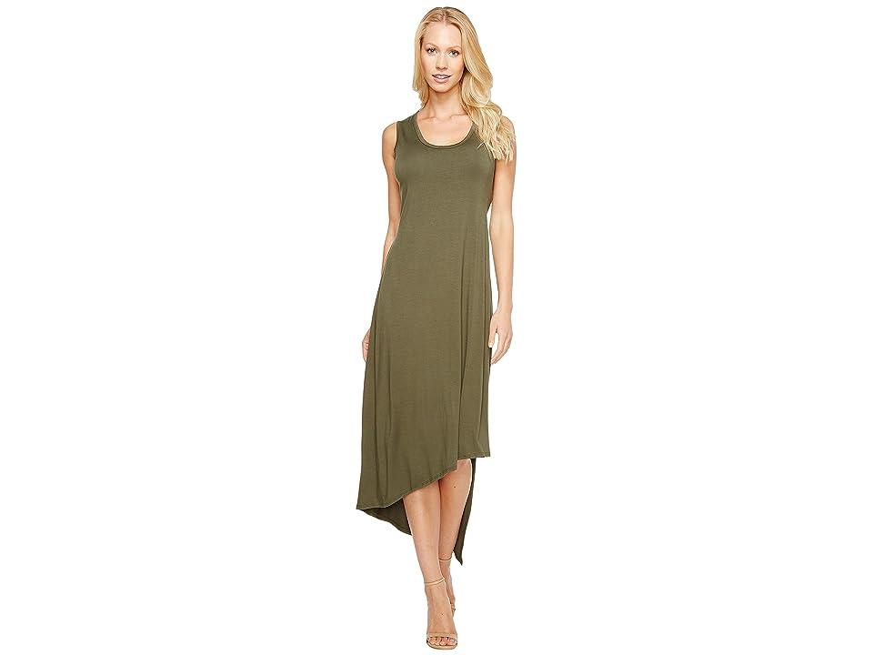 Karen Kane Stevie Tank Dress (Olive) Women