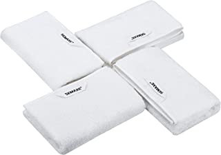 SEMAXE Towel Hand Towels for Bathroom, Absorbent and Soft Long-Staple Cotton Hand Towel Set,Hotel & Spa Quality Towels (Wh...