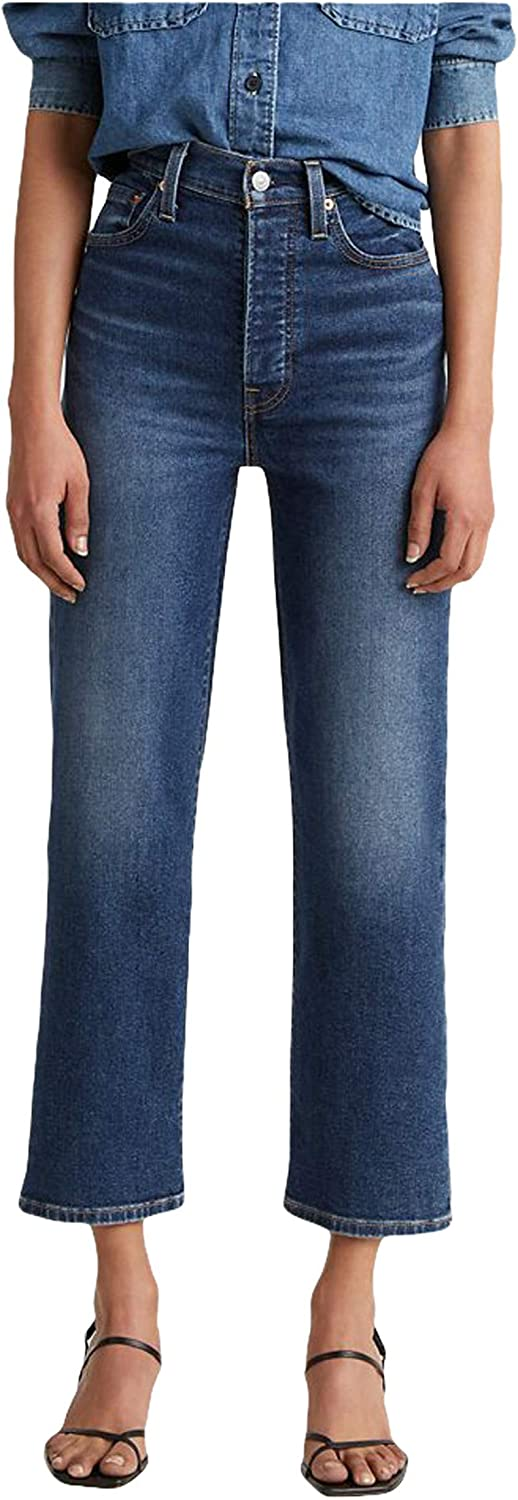 A surprise price is realized Levi's Women's Sale Ribcage Ankle Straight Jeans
