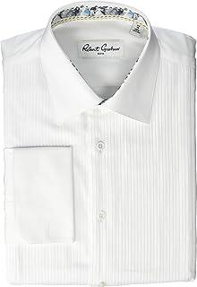 Elegant Tuxedo Package-Ivory Laydown Shirt Gold Onyx Cufflinks Silk Accessories
